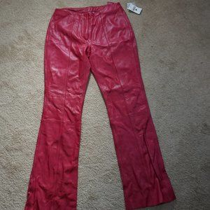 Wilsons Leather Maxima Size 12 NWT Leather Pants